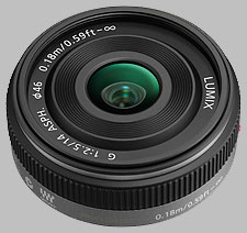 image of the Panasonic 14mm f/2.5 ASPH LUMIX G lens