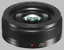 image of the Panasonic 20mm f/1.7 II ASPH LUMIX G lens