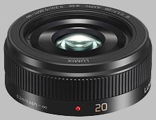 image of the Panasonic 20mm f/1.7 II ASPH LUMIX G lens