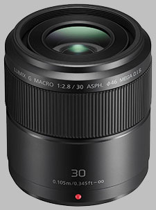 image of the Panasonic 30mm f/2.8 ASPH MEGA OIS LUMIX G MACRO lens