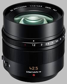 image of the Panasonic 42.5mm f/1.2 ASPH POWER OIS LEICA DG NOCTICRON lens