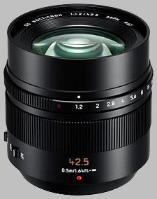 image of the Panasonic 42.5mm f/1.2 ASPH POWER OIS LEICA DG NOCTICRON lens