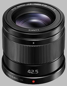 image of the Panasonic 42.5mm f/1.7 ASPH POWER OIS LUMIX G lens
