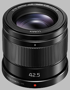 image of the Panasonic 42.5mm f/1.7 ASPH POWER OIS LUMIX G lens