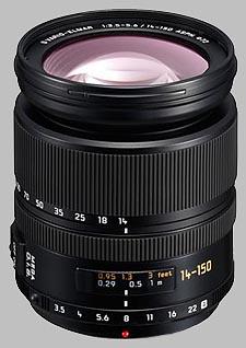 image of Panasonic 14-150mm f/3.5-5.6 ASPH MEGA OIS LEICA D VARIO-ELMAR