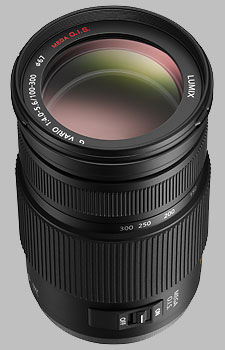 image of the Panasonic 100-300mm f/4-5.6 ASPH MEGA OIS LUMIX G VARIO lens