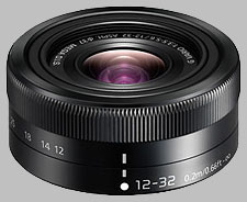 image of the Panasonic 12-32mm f/3.5-5.6 ASPH MEGA OIS LUMIX G VARIO lens