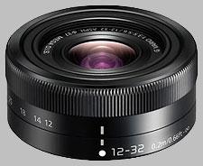 image of the Panasonic 12-32mm f/3.5-5.6 ASPH MEGA OIS LUMIX G VARIO lens