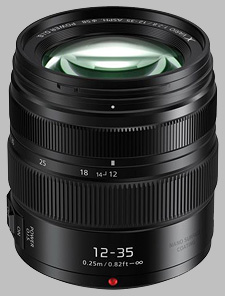 image of the Panasonic 12-35mm f/2.8 II ASPH POWER OIS LUMIX G X VARIO lens