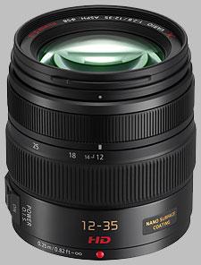 image of the Panasonic 12-35mm f/2.8 ASPH POWER OIS LUMIX G X VARIO lens
