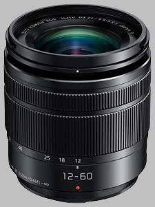 image of the Panasonic 12-60mm f/3.5-5.6 ASPH POWER OIS LUMIX G VARIO lens