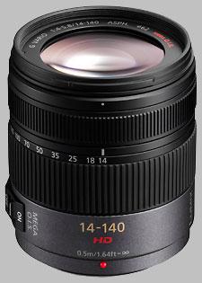 image of Panasonic 14-140mm f/4-5.8 ASPH MEGA OIS LUMIX G VARIO HD