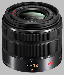 image of the Panasonic 14-42mm f/3.5-5.6 II ASPH MEGA OIS LUMIX G Vario lens