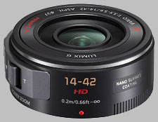 image of the Panasonic 14-42mm f/3.5-5.6 ASPH POWER OIS LUMIX G X VARIO PZ lens