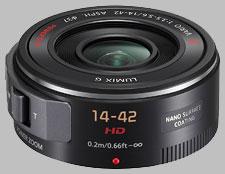image of the Panasonic 14-42mm f/3.5-5.6 ASPH POWER OIS LUMIX G X VARIO PZ lens