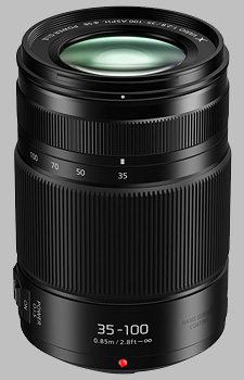 image of the Panasonic 35-100mm f/2.8 II POWER OIS LUMIX G X VARIO lens