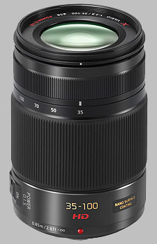 image of the Panasonic 35-100mm f/2.8 POWER OIS LUMIX G X VARIO HD lens
