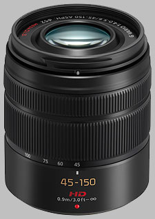 image of the Panasonic 45-150mm f/4-5.6 ASPH MEGA OIS LUMIX G VARIO lens