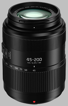 image of the Panasonic 45-200mm f/4-5.6 II POWER OIS LUMIX G VARIO lens
