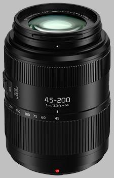 image of the Panasonic 45-200mm f/4-5.6 II POWER OIS LUMIX G VARIO lens