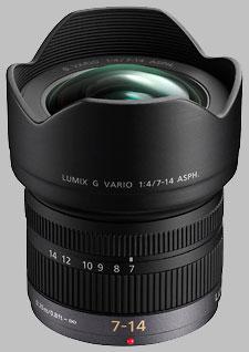image of the Panasonic 7-14mm f/4 ASPH LUMIX G VARIO lens