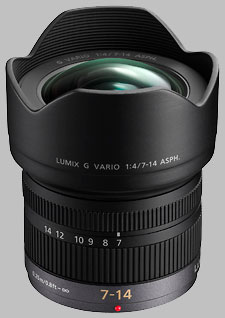 image of the Panasonic 7-14mm f/4 ASPH LUMIX G VARIO lens