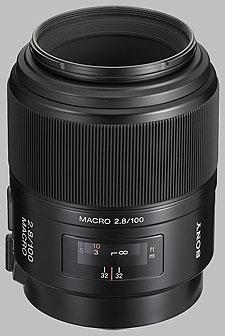 image of the Sony 100mm f/2.8 Macro SAL-100M28 lens