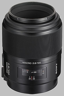 image of Sony 100mm f/2.8 Macro SAL-100M28
