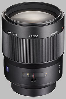image of the Sony 135mm f/1.8 Carl Zeiss Sonnar T* SAL-135F18Z lens