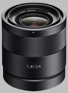 image of the Sony E 24mm f/1.8 Carl Zeiss Sonnar T* ZA SEL24F18Z lens