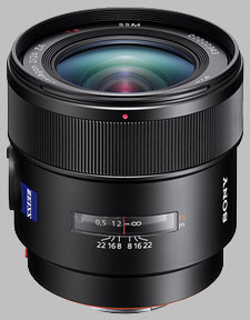 image of the Sony 24mm f/2 SSM Carl Zeiss Distagon T* SAL24F20Z lens