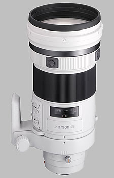 image of the Sony 300mm f/2.8 G SAL-300F28G lens