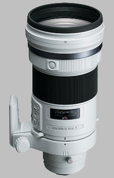 image of the Sony 300mm f/2.8 G SSM II SAL300F28G2 lens