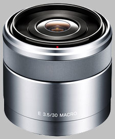 image of the Sony E 30mm f/3.5 Macro SEL30M35 lens