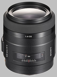 image of the Sony 35mm f/1.4 G SAL-35F14G lens