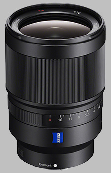 image of the Sony FE 35mm f/1.4 ZA Zeiss Distagon T* SEL35F14Z lens