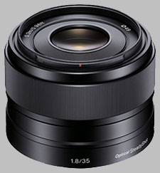 image of the Sony E 35mm f/1.8 OSS SEL35F18 lens