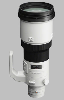 image of the Sony 500mm f/4 G SSM SAL-500F40G lens