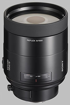 image of the Sony 500mm f/8 Reflex SAL-500F80 lens