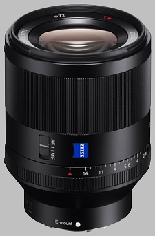 image of the Sony FE 50mm f/1.4 ZA SSM Zeiss Planar T* SEL50F14Z lens