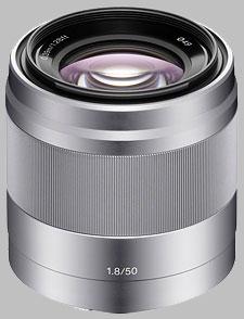 image of the Sony E 50mm f/1.8 OSS SEL50F18 lens