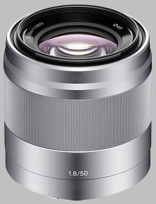 image of the Sony E 50mm f/1.8 OSS SEL50F18 lens