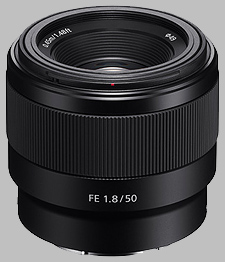 image of the Sony FE 50mm f/1.8 SEL50F18F lens