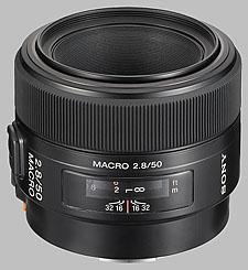 image of the Sony 50mm f/2.8 Macro SAL-50M28 lens
