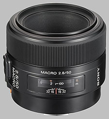 image of the Sony 50mm f/2.8 Macro SAL-50M28 lens