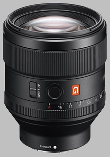 image of the Sony FE 85mm f/1.4 GM SEL85F14GM lens