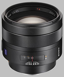 image of the Sony 85mm f/1.4 Carl Zeiss Planar T* SAL-85F14Z lens
