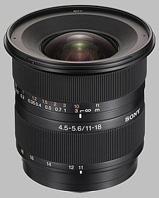image of the Sony 11-18mm f/4.5-5.6 DT SAL-1118 lens
