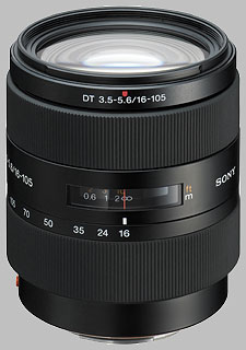 image of the Sony 16-105mm f/3.5-5.6 DT SAL-16105 lens