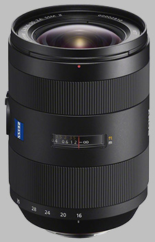 image of the Sony 16-35mm f/2.8 ZA SSM II Zeiss Vario-Sonnar T* SAL1635Z2 lens